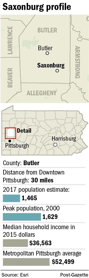 Saxonburg: It's a small town with a big heart   Pittsburgh