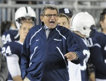 A lawsuit filed by Penn State against one of its insurers claims football coach Joe Paterno may have known in 1976 that Jerry Sandusky molested a boy.