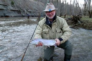 John Hayes of the Post-Gazette released this steelhead taken on the Grand River, Ohio.