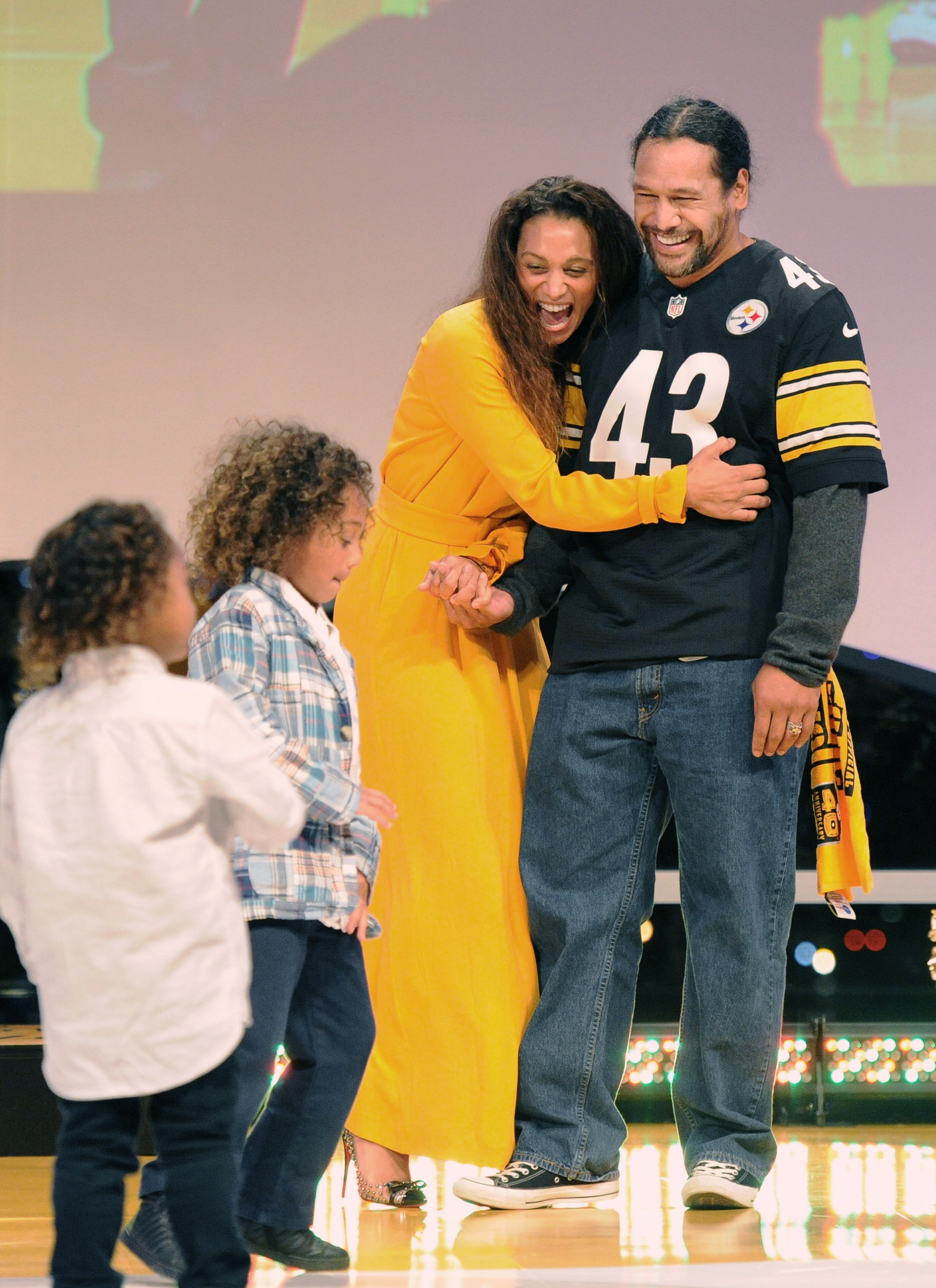 Steelers safety Troy Polamalu living in the moment as ...