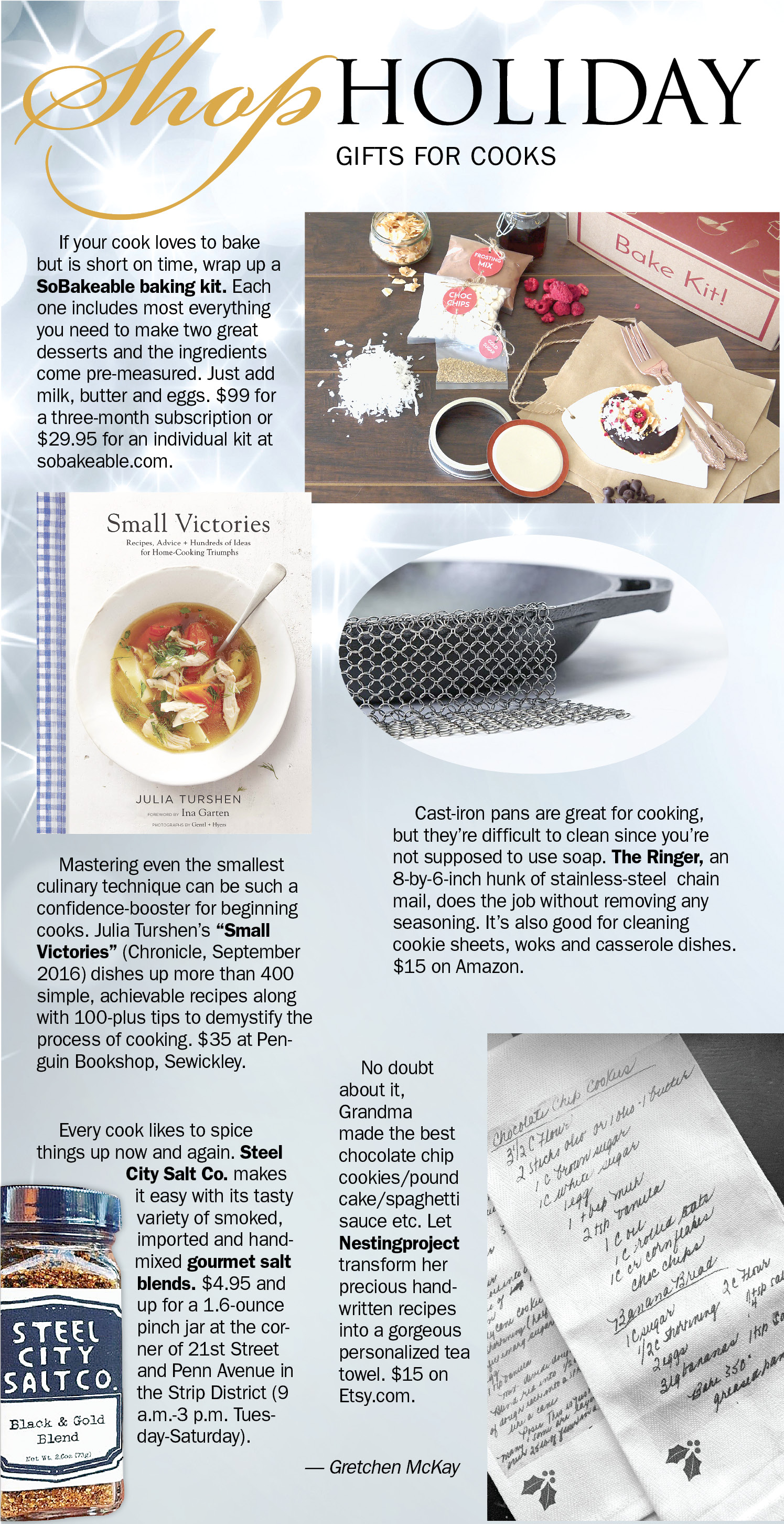 Shop Holiday 2016 Gifts For Chefs