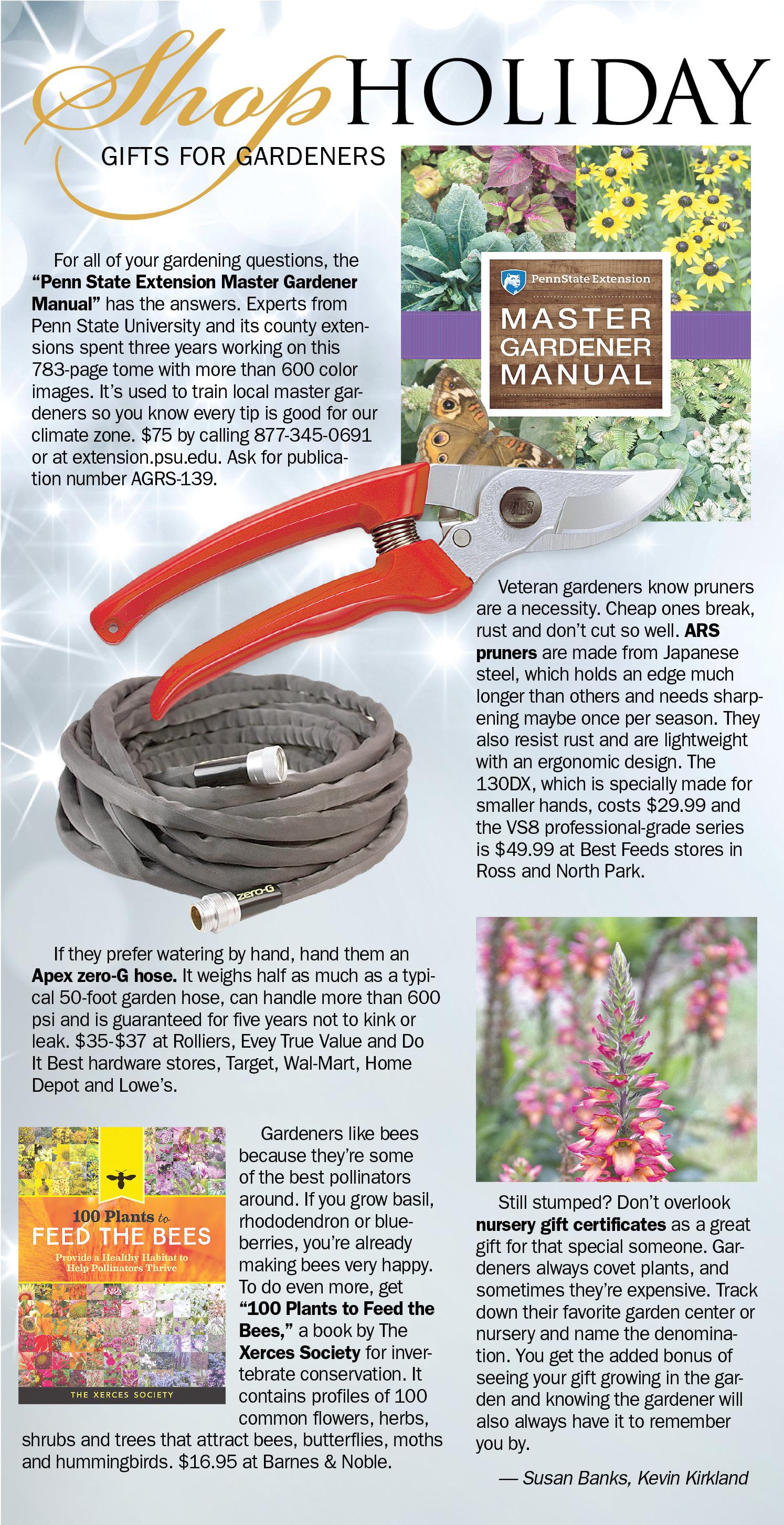 penn state master gardener manual