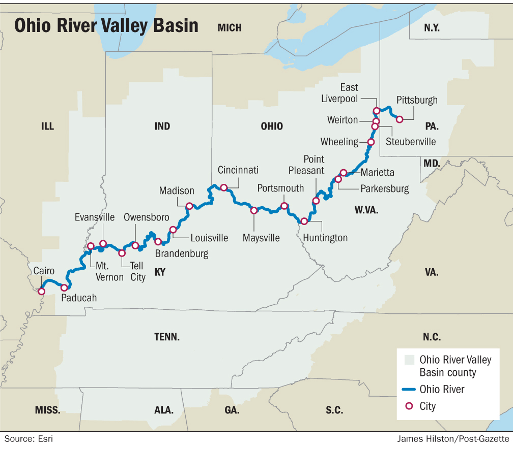 Climate Report Predicts Dramatic Changes For Ohio River Basin
