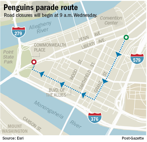 GDT: 2017 Stanley Cup Victory Parade - 6/14/17 - 11 AM ...