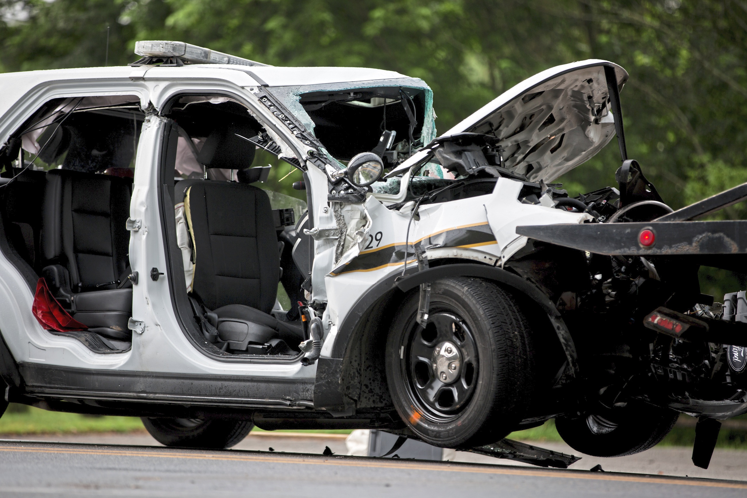 Coroner rules death of state trooper in Ligonier crash as