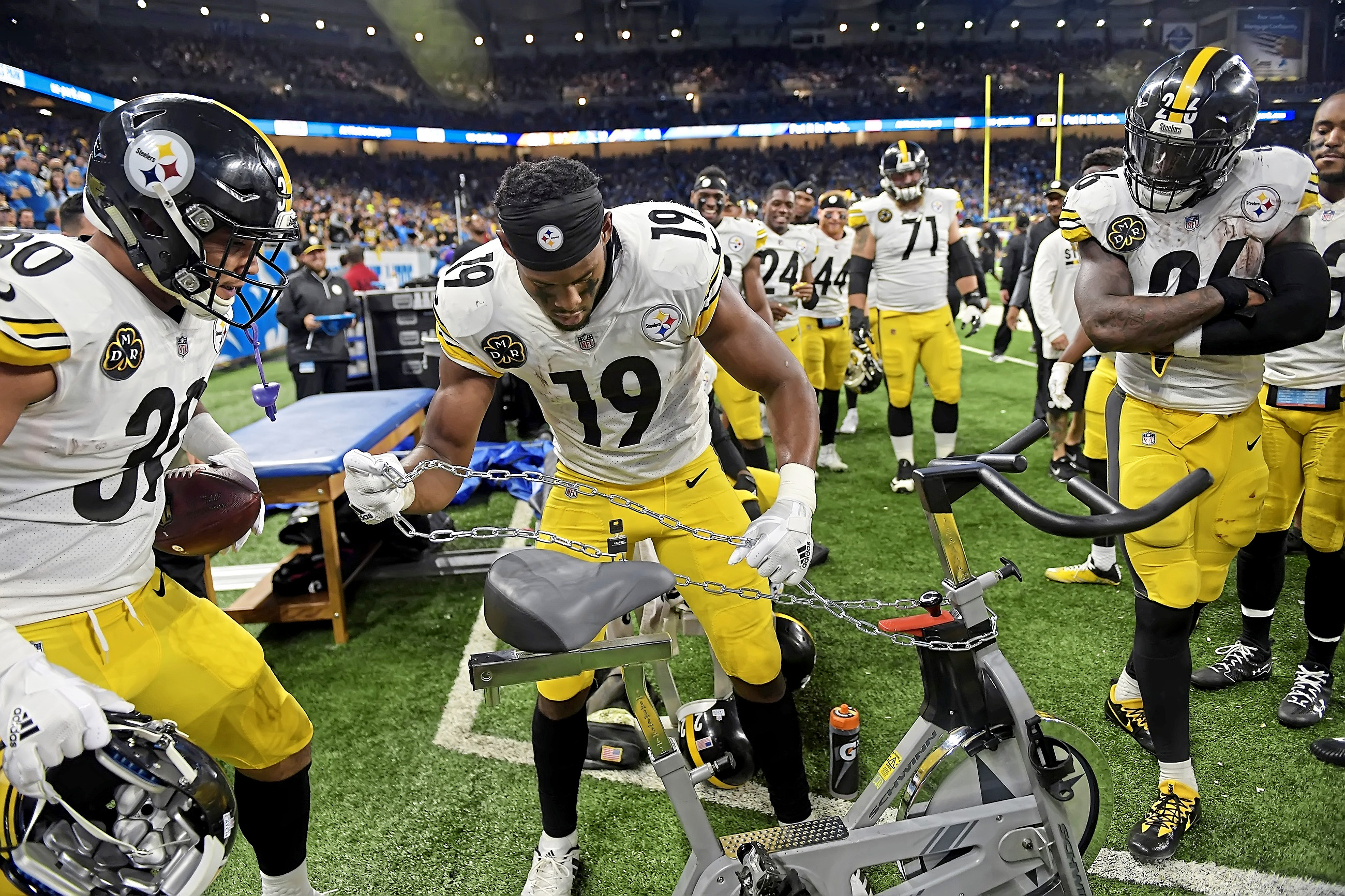 JuJu Smith-Schuster sparks memories of Franco Harris. Here's how ...