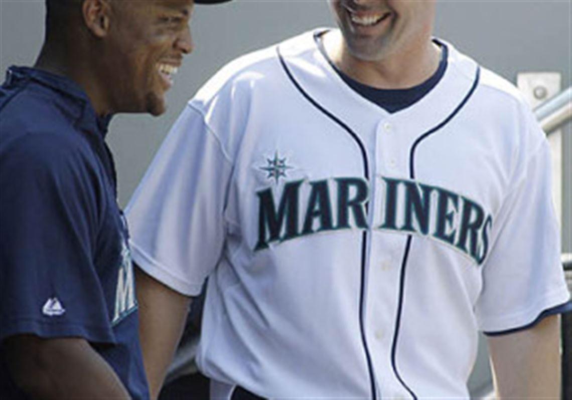 Mariners Third Baseman Adrian Beltre Left Visits With New Shortstop Jack Wilson