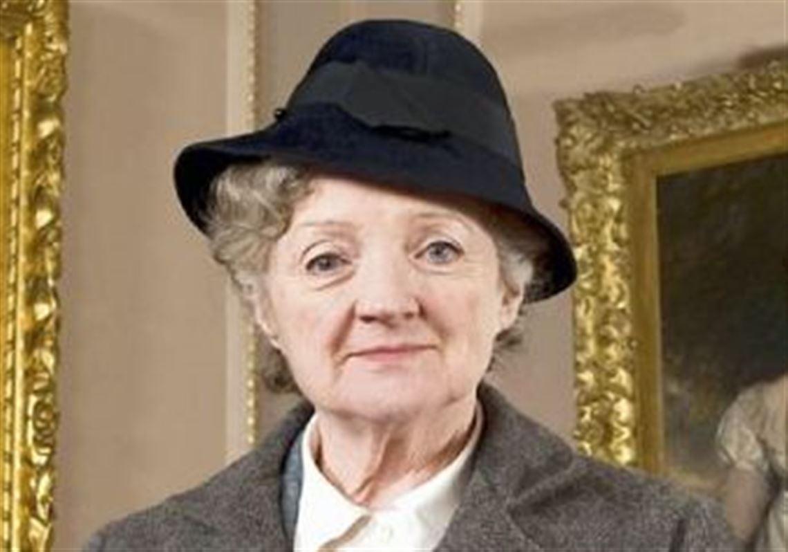 Miss Marple. Little sly old lady