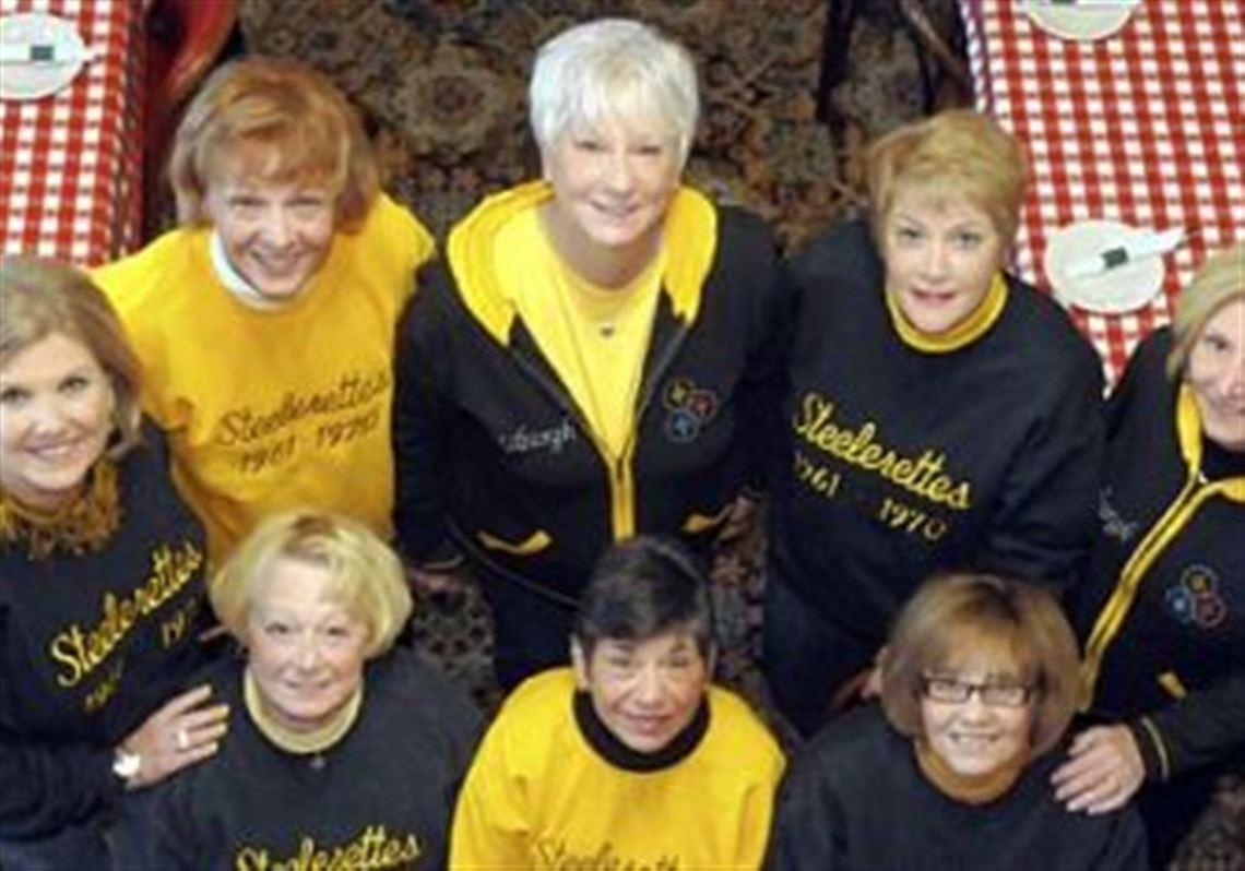 e0b3c50eb Steelerettes reunite for 50th anniversary