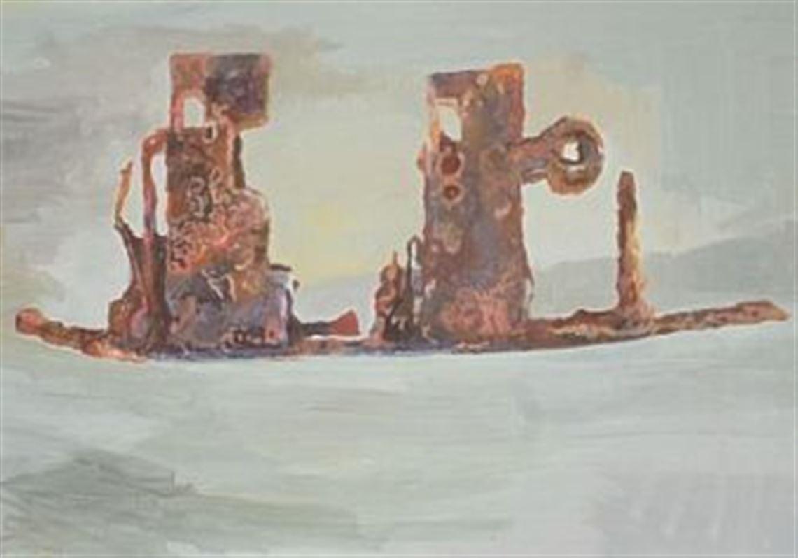 David Conrad gives back to Kiski School with art collection