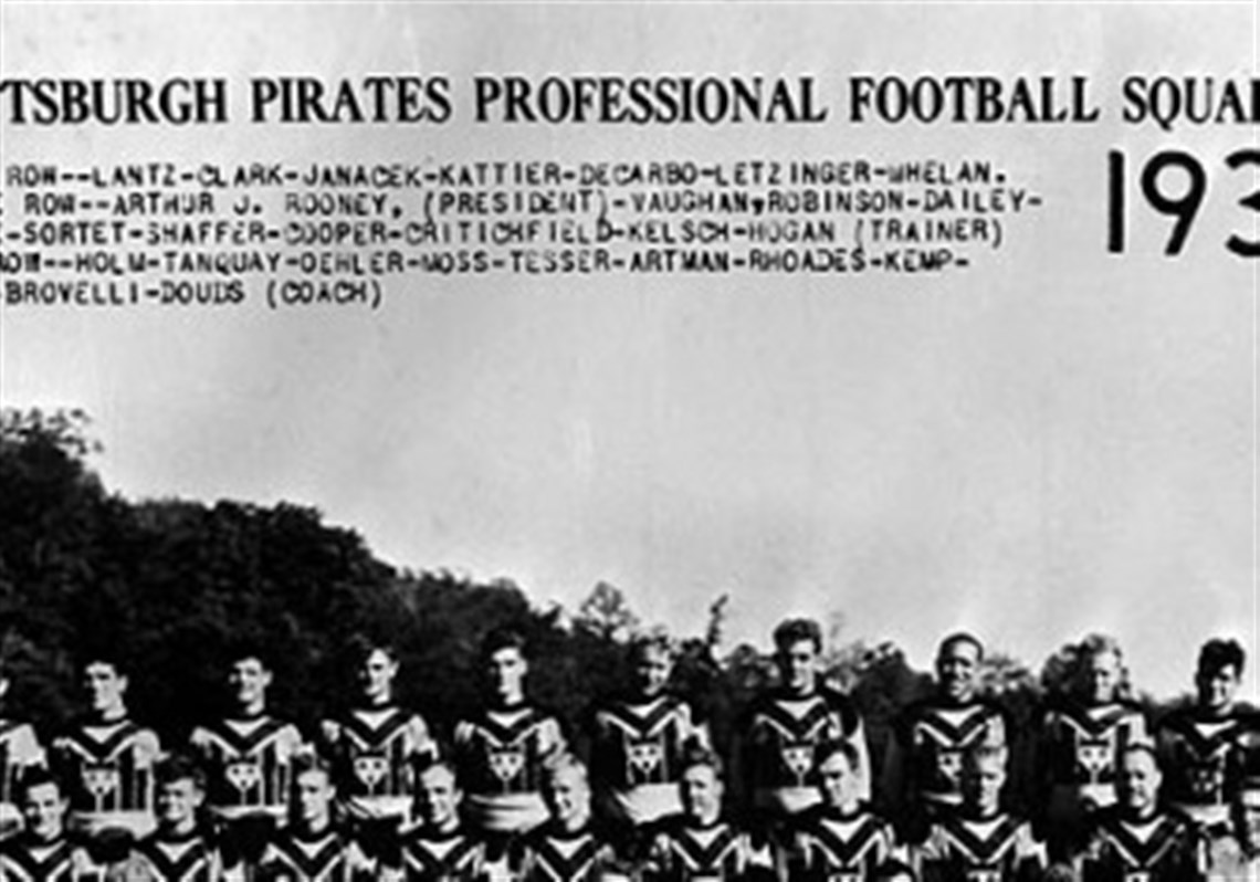 Birth of the nation the steelers of the 30s pittsburgh post a 1933 team photo from the first year and the steelers were named pittsburgh pirates aiddatafo Gallery