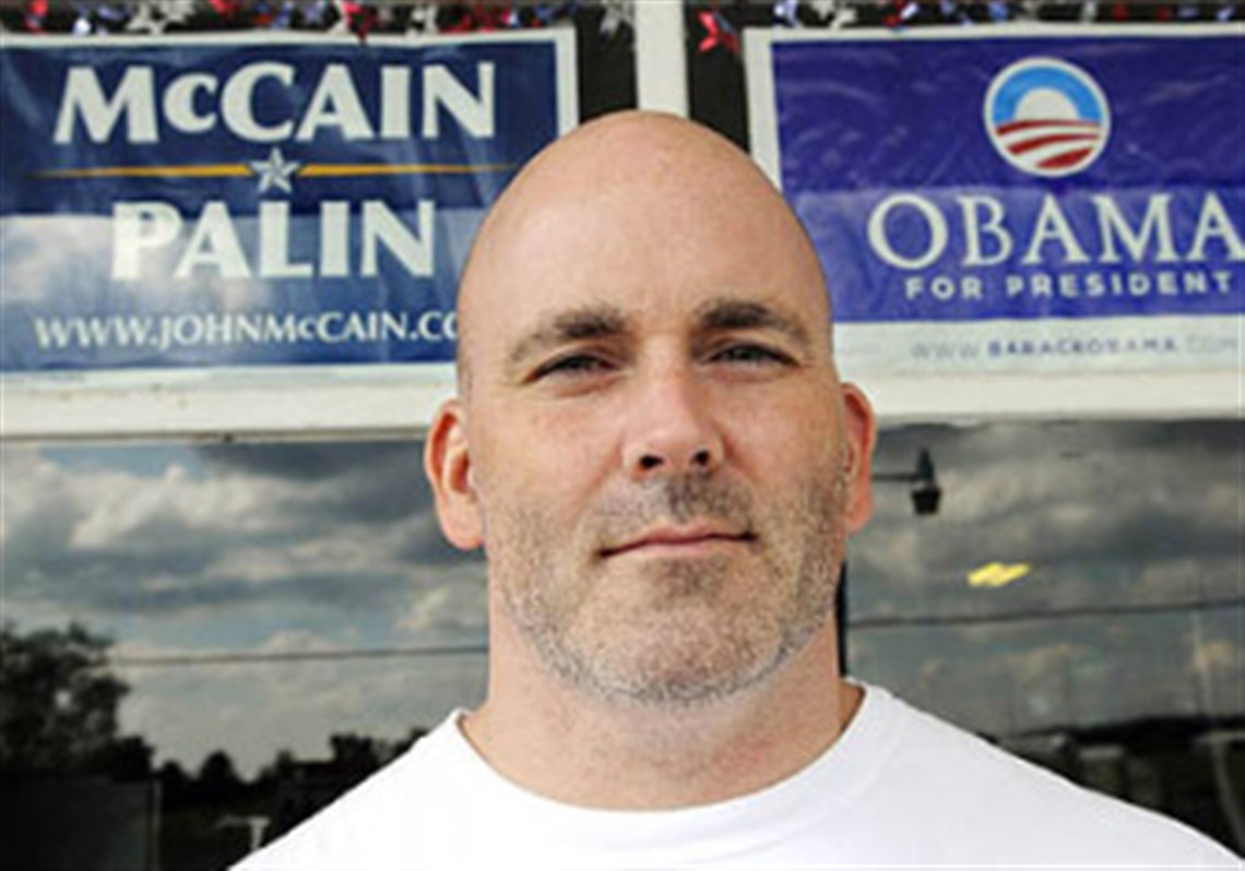 mccain strong in border county pittsburgh post gazette glenn hiller stands in front of the dott store in the town of dott in