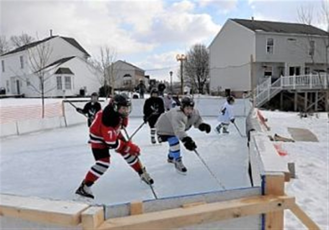 backyard rink in north fayette a place to chill out pittsburgh
