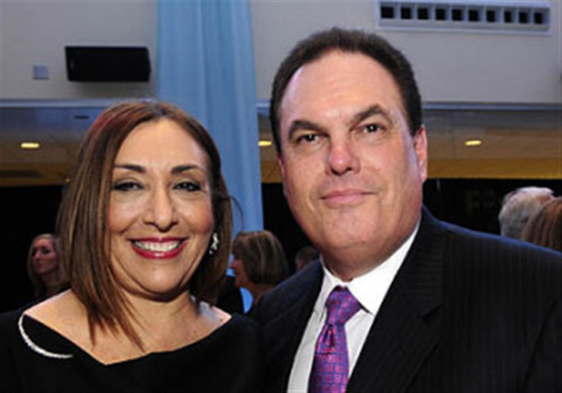 hillman cancer center gala held at consol energy center ina and larry gumberg
