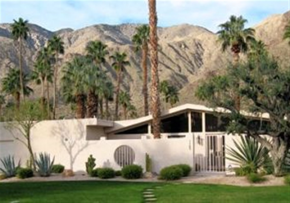 Modern Architecture Palm Springs palm springs: a pleasing mix from low to high | pittsburgh post