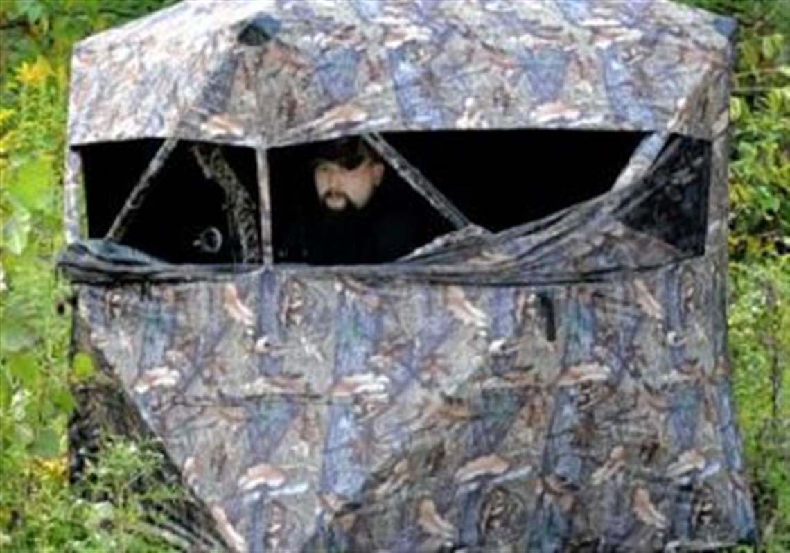 ts bow product for muddy hub blinds index at ground blind hunting