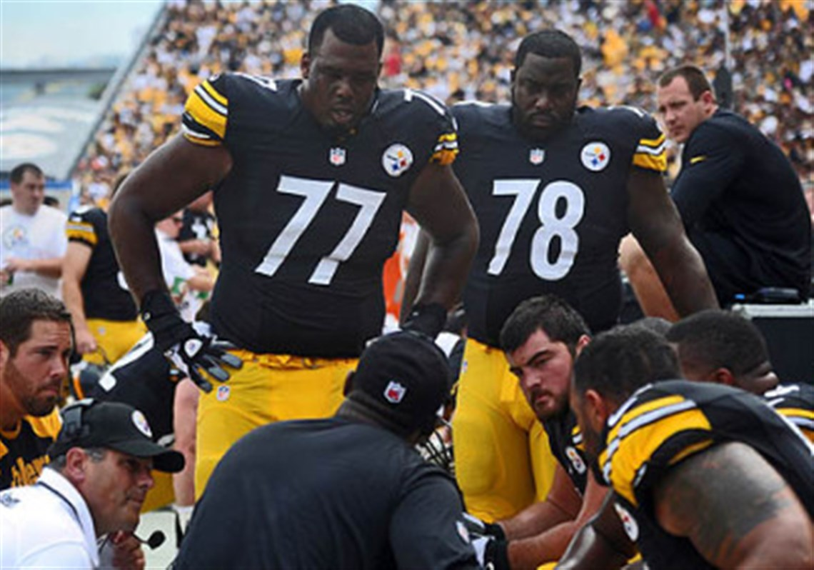 Steelers lineman Marcus Gilbert can take big jump in 2014