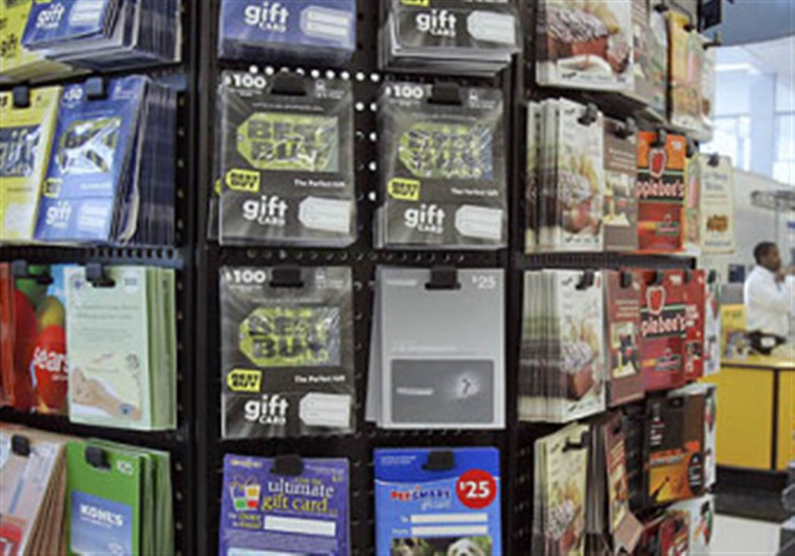 Unused gift cards? Consumers increasingly buying and selling them ...