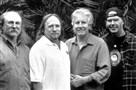 Henry Diltz took this photo of David Crosby, Stephen Stills, Graham Nash and Neil Young, aka Crosby, Stills, Nash & Young.