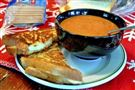 Homemade Tomato Soup and Grilled Cheese
