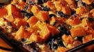 Vegetarian Squash and Bread Pudding