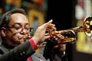 Trumpet player Jon Faddis will play tonight and Saturday night at Manchester Craftsmen's Guild.