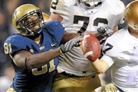Former Pitt defensive end Greg Romeus is still chasing his NFL dream after a slew of injuries.