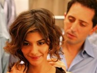 "Gad Elmaleh, seen here with Audrey Tautou in the French farce ""Priceless,"" will perform all weekend at the Pittsburgh Improv at the Waterfront, Homestead."
