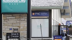 On Lincoln Avenue in Bellevue, National City  and PNC bank branches sat next to each other prior to the 2007 deal that merged the two banks.