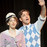 "Ephie Aardema is a starry-eyed Peggy Sawyer to Tyler Hanes' Billy Lawlor in Pittsburgh CLO's ""42nd Street."""