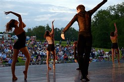 "The Pittsburgh Ballet Theatre presents ""Ballet Under the Stars"" at Hartwood Acres."