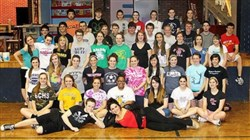 "The cast of ""In the Heights,"" Canevin High School"