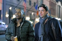 "Leslie Odom Jr. (as Sam Strickland) and Christian Borle (as Tom Levitt) -- both Carnegie Mellon graduates -- played Broadway veterans in a romantic relationship in ""Smash."" Both are leaving Tony-winning roles -- in ""Hamilton"" and ""Something Rotten!,"" respectively -- on Broadway next month."