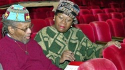 "Rob Penny and Vernell Lillie review the scripts for the double bill of ""Love to All Lorraine"" and ""Zora the Dark Town Strutter"" that were performed by Kuntu Repertory Theatre in 2000."
