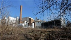 The Harrisburg Incinerator on South 19th Street in Harrisburg