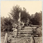 This U.S. Army Corps signal station in Elk Mountain, Md., overlooked the Antietam battlefield in October 1862. Less than a year later, similar stations, which functioned as lookout towers, were erected at Gettysburg where Luther Calvin Furst alerted soldiers to Pickett's Charge (photo credited to Timothy H. O'Sullivan).