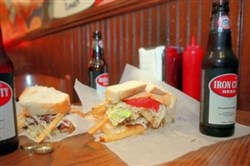 "The basic ingredients of the ""Almost Famous"" Primanti's sandwich can be delivered to your door, assembly required."
