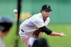 "Pirates pitcher Gerrit Cole says he was ""surprised and honored"" when Clint Hurdle told him he'd be starting today's home opener against the Detroit Tigers."