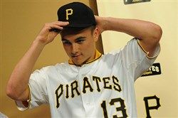 Reese McGuire, one of the Pirates first-round draft picks in 2013, has hopes of making Pittsburgh's roster following an impressive season with high-Class A Bradenton.