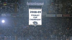 The Penguins will have several themed events throughout this season, the team's 50th anniversary. Among the events will be the raising of the banner for winning last year's Stanley Cup. They'll raise the banner on opening night, Oct. 13, against the Capitals at Consol Energy Center.