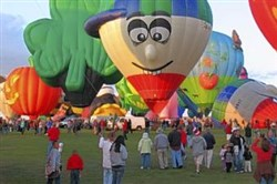 To get the most out of your airline miles, avoid using them to attend popular events such as the Albuquerque International Balloon Fiesta, which is held each October.