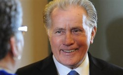 Actor and activist Martin Sheen during a visit at La Roche College in McCandless, where he gave the commencement address in 2013.