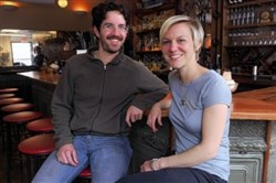 Tim Tobitsch and Megan Lindsey own Franktuary.