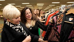 Shoppers browse selections at Designer Days. The event returns for its 47th year Nov. 3-5, with a patron party Nov. 2.