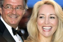 Former CIA officer Valerie Plame, right, and her husband former ambassador Joseph Wilson.