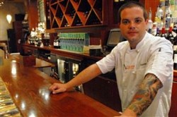 Dustin Gardner, executive chef at Casbah in Shadyside.