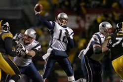 The Patriots and quarterback Tom Brady won the AFC Championship game in 2005 at Heinz Field and has tortured the Steelers ever since.