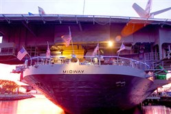 The USS Midway, one of the Navy's longest-serving aircraft carriers, began a second life as the USS Midway Museum on the San Diego waterfront in 2004.