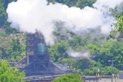 The Allegheny County Health Department's air quality monitor near U.S. Steel's Clairton Coke Works has shown increased levels of hydrogen sulfide during nighttime hours in August.