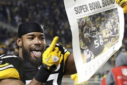 Will the Steelers be Super Bowl bound if they beat the Eagles Sunday?